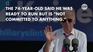 Vice President Joe Biden hints at running for president in 2020