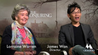 THE CONJURING Interviews: Lorraine Warren & director James Wan