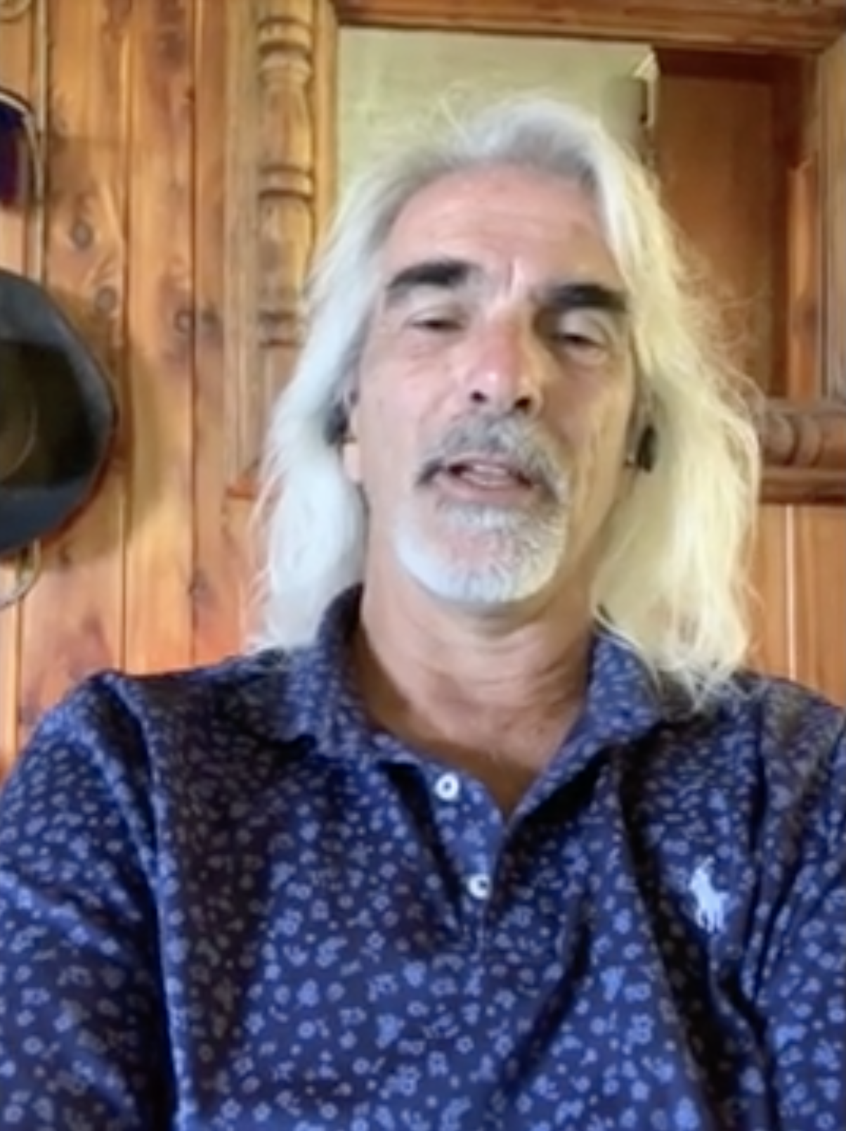 Guy Penrod encourages father's to lead the way