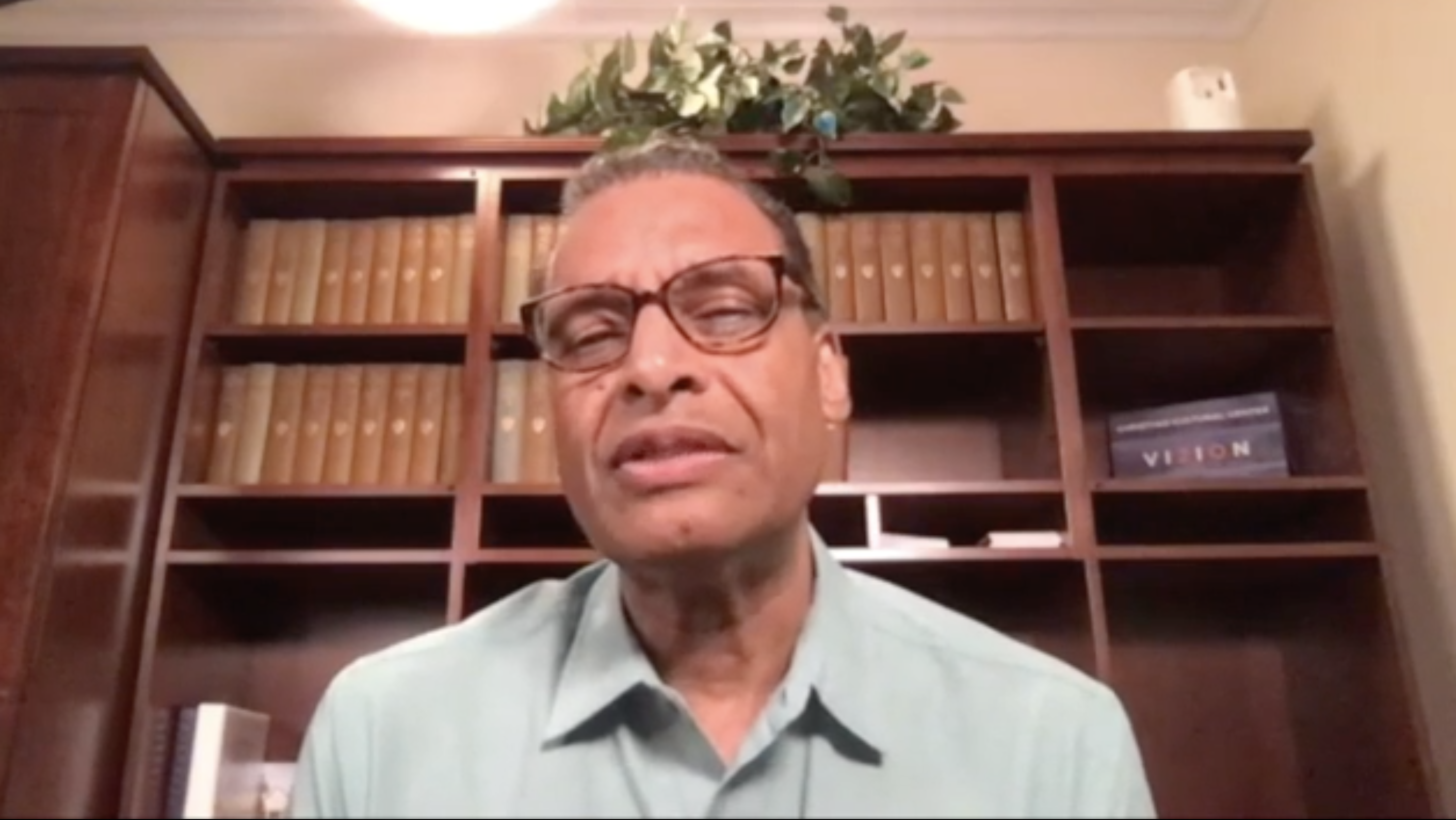 Pastor A.R. Bernard provides the church with a resolution to combat racism