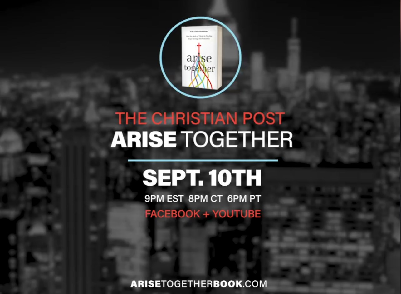 Arise Together Launch Event on September 10th