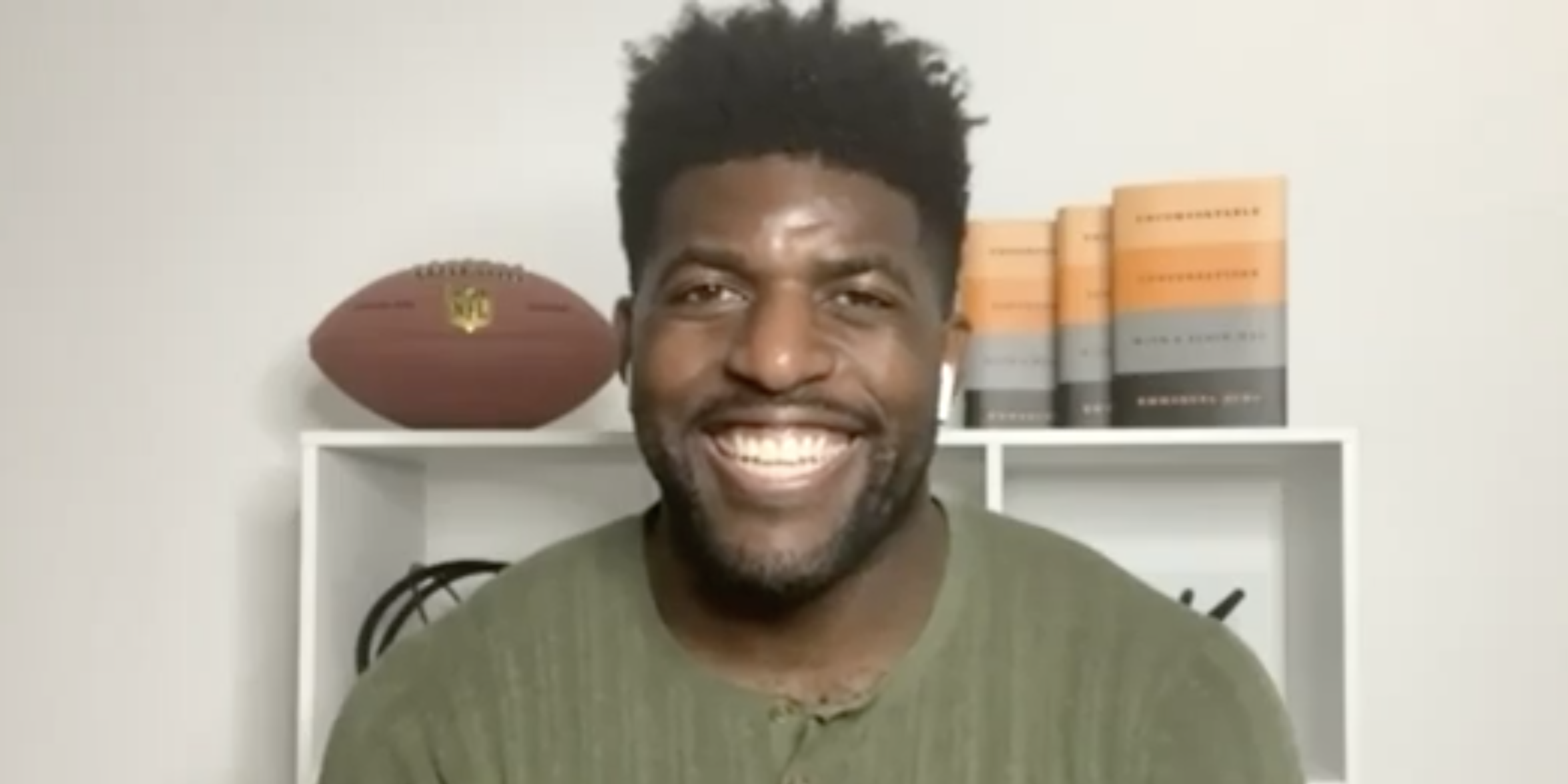 Emmanuel Acho: CP's Uncomfortable Conversation with A Black Man