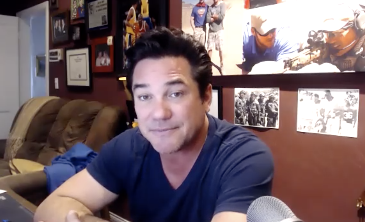 Dean Cain, star of the new film 'Trafficked: A Parent's Worst Nightmare'