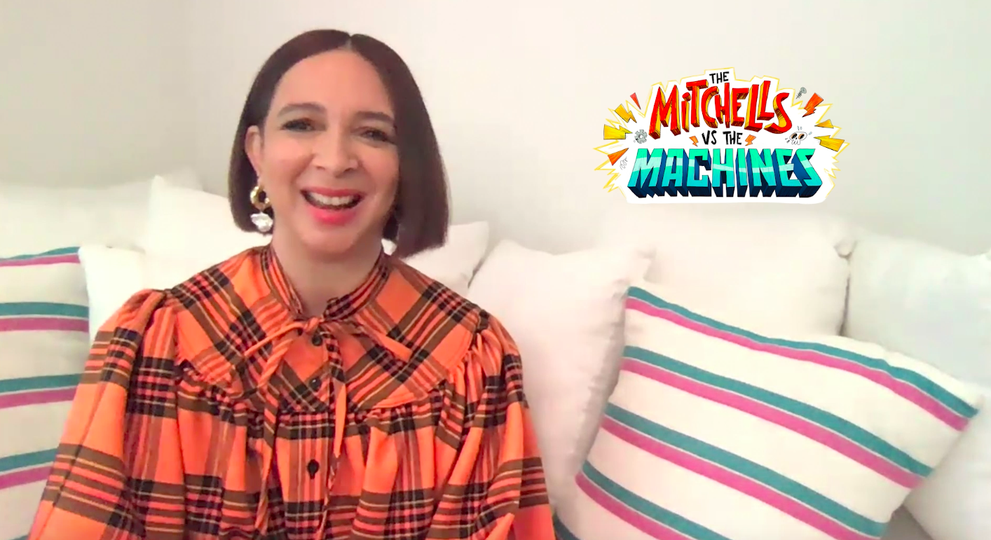 "Maya Rudolph on ""The Mitchells vs The Machines"""