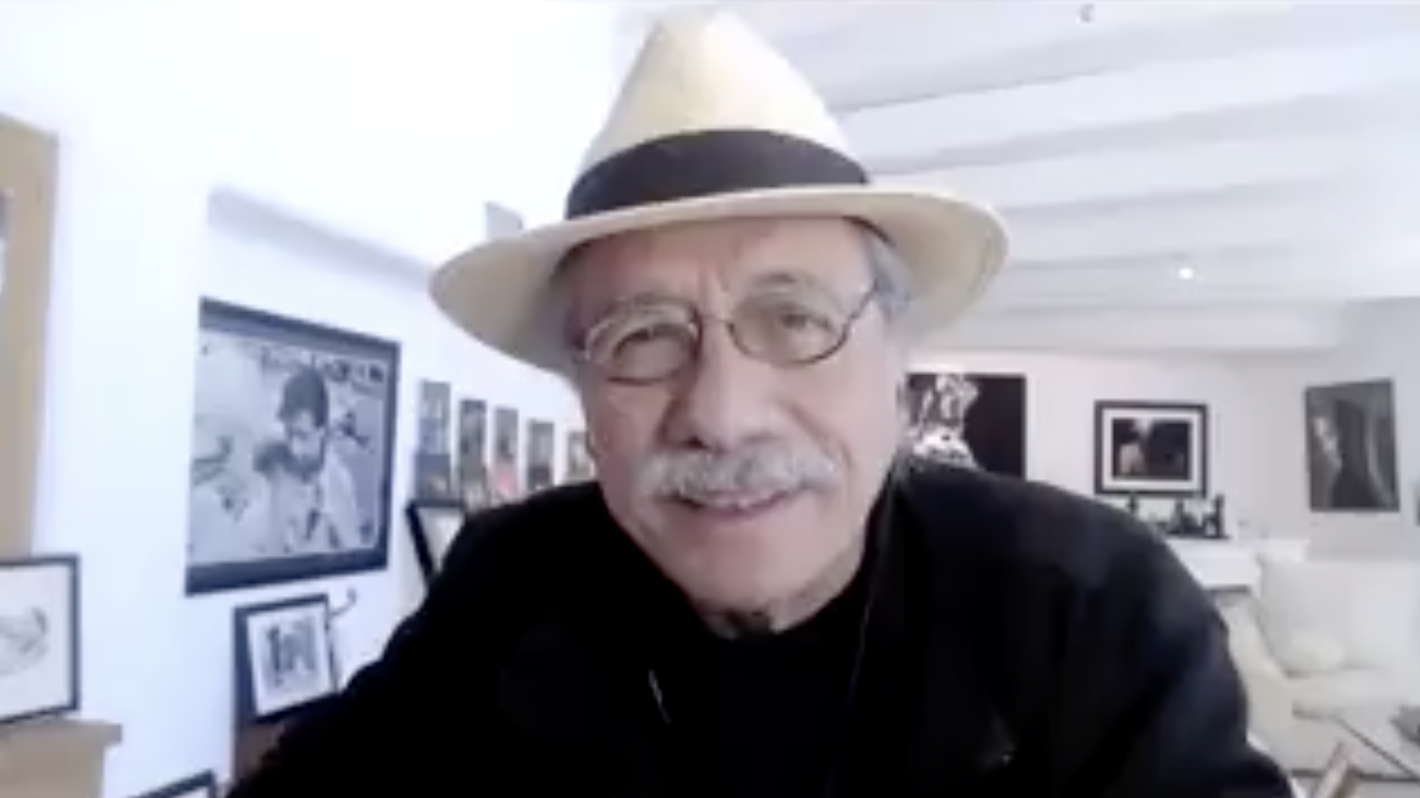 Edward James Olmos encourages people to walk with God in everything