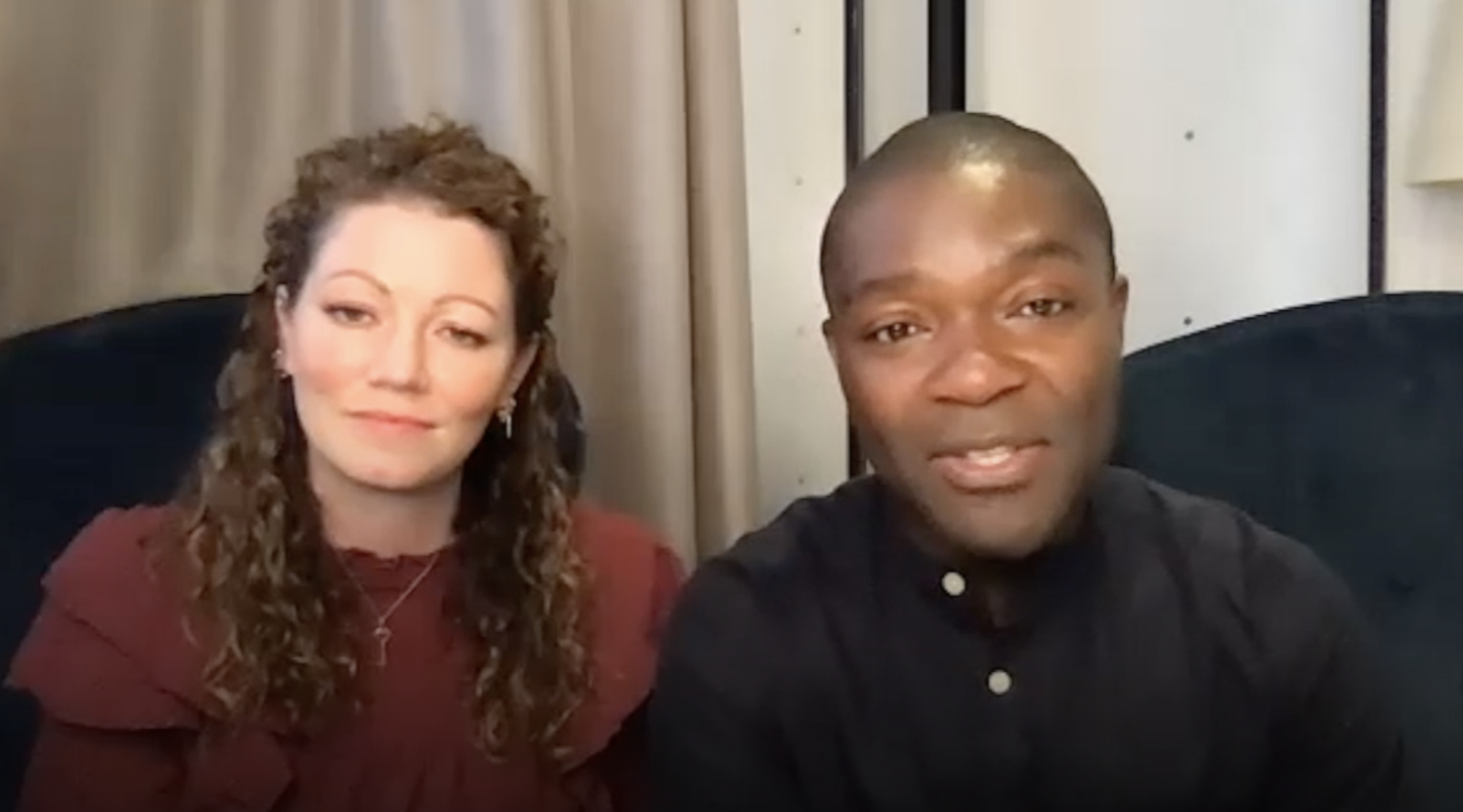 David Oyelowo & wife Jessica talk Heaven, sacrificial love of Jesus & their new movie 'The Water Man'